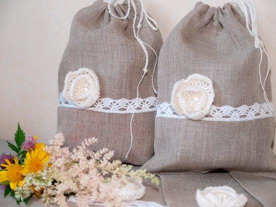 Свадебные мешочки