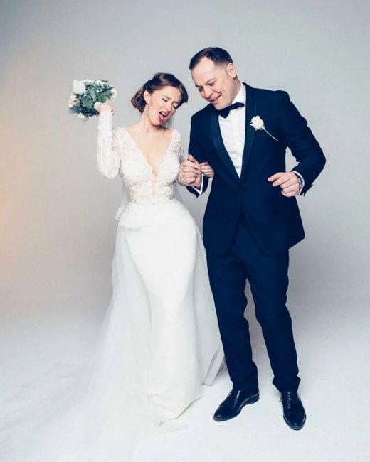 Свадебное платье Натальи Костеневой