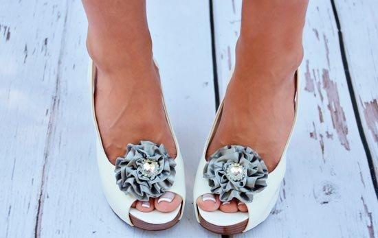 Украшения на туфли