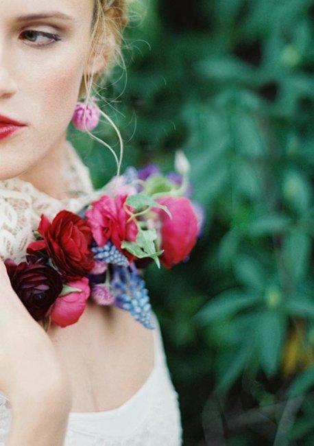 Необычное ожерелье для невесты
