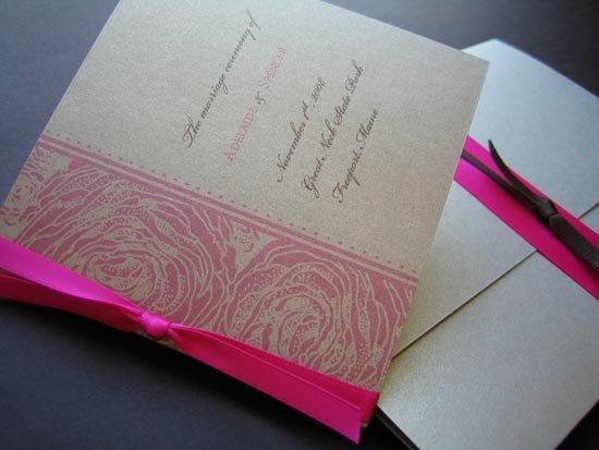 Программа свадьбы в цвете праздника