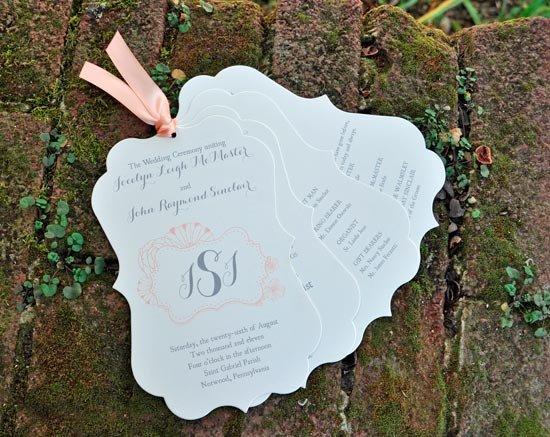 Программа свадьбы необычной формы