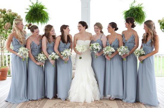 Образ подружек на свадьбе