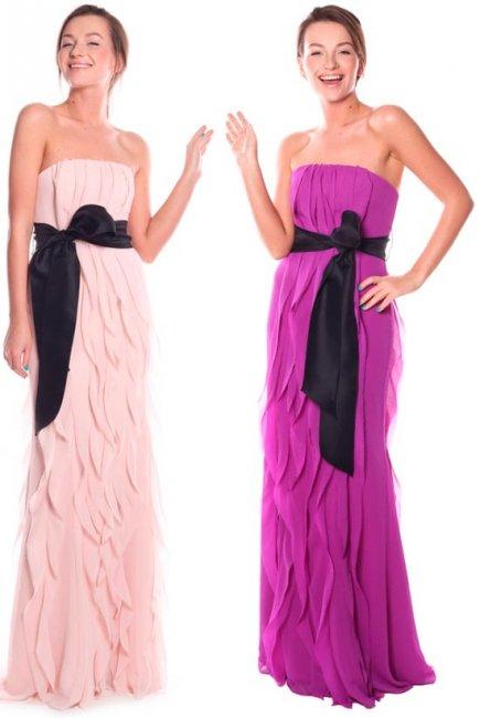 Платья одного фасона для подружек