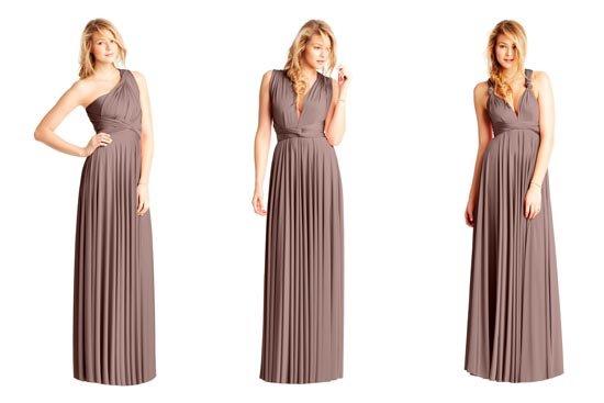 Трансформация платья