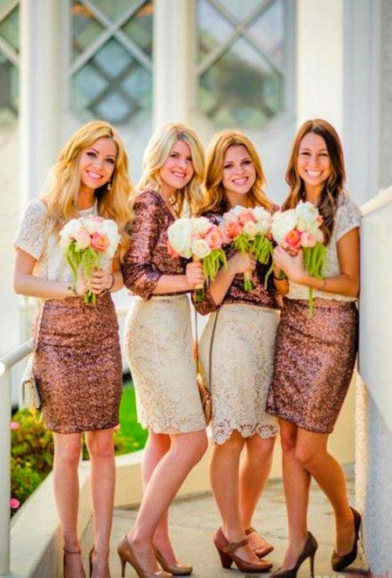 Новый стиль для подружек невесты