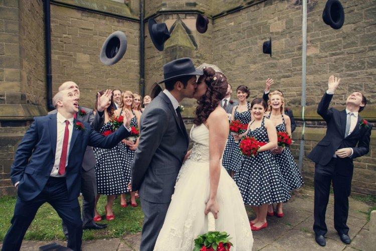 Гангстерская свадьба в стиле «Чикаго»