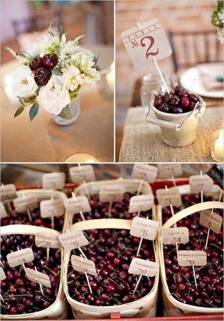 Свадебные вишневые