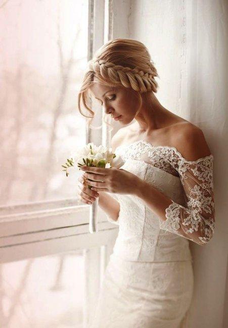 Восхитительная прическа невесты
