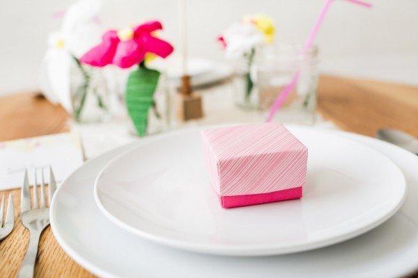 Бонбоньерки в технике оригами