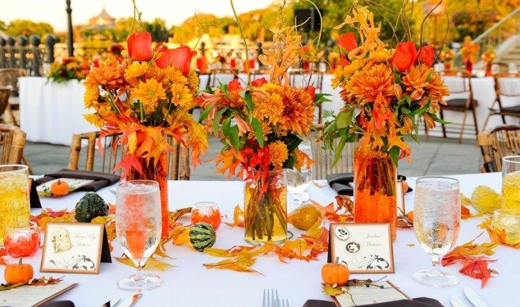 апельсиновом свадьба цвете фото в