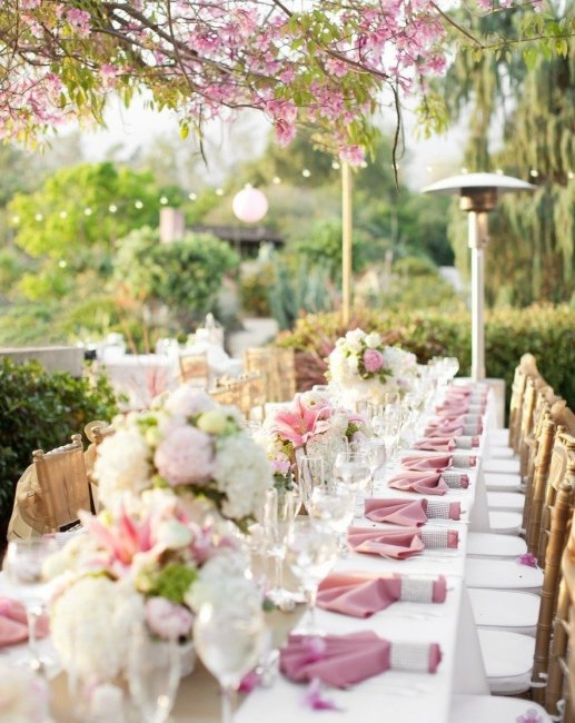 Свадьба в стиле сад