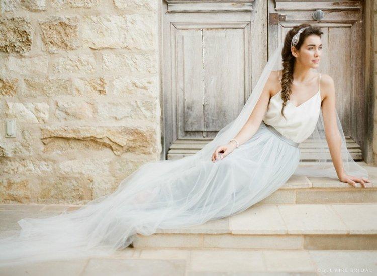 Естественные фото невесты