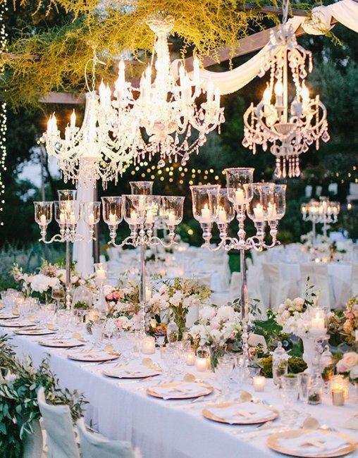 Съемка свадебного декора