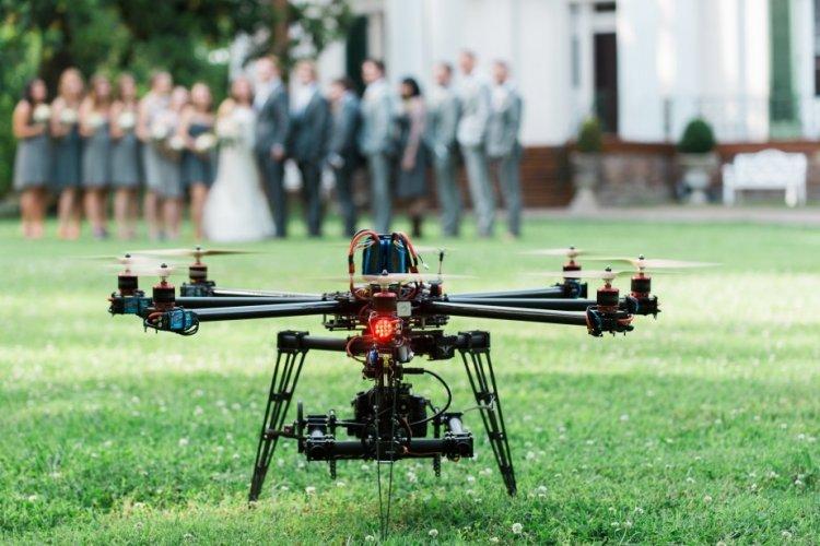 Свадебная аэросъемка
