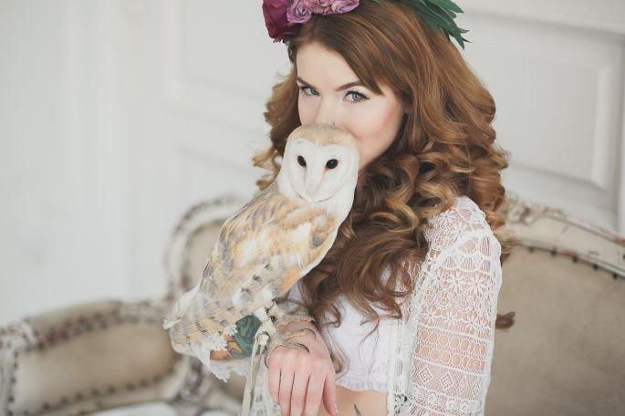 Невеста с совой