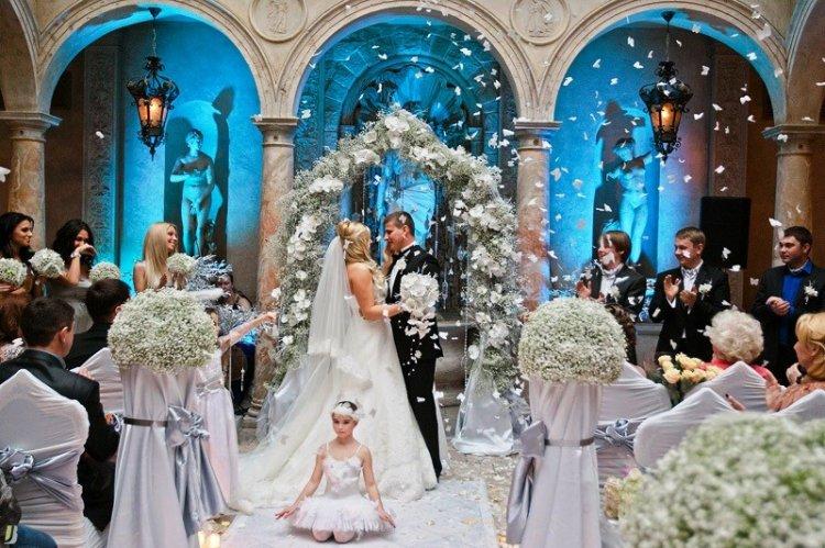 Идеи для свадьбы зимой оформление 52