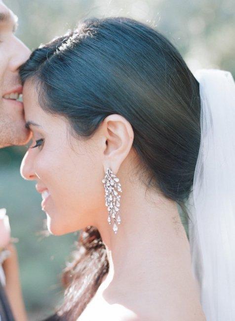 Серьги для невесты