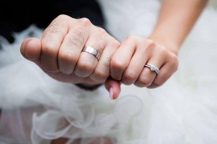 Кольца в образе невесты