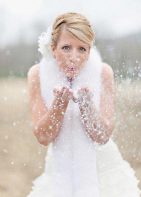 Невеста и снег