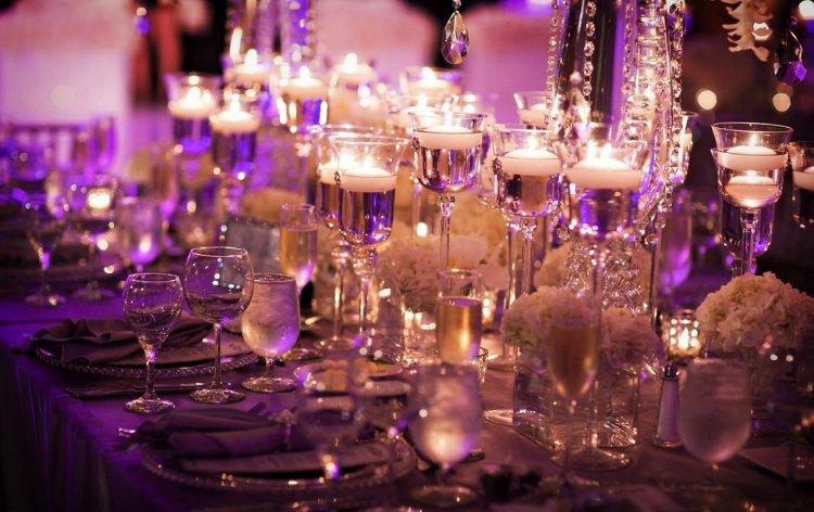 Романтика при свечах