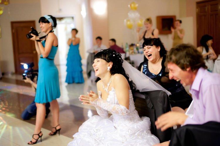 Искренние эмоции на свадьбе