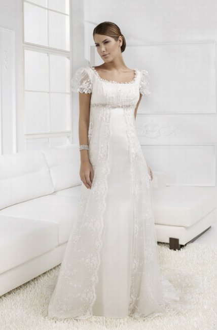 Свадебные платья колокольчиком