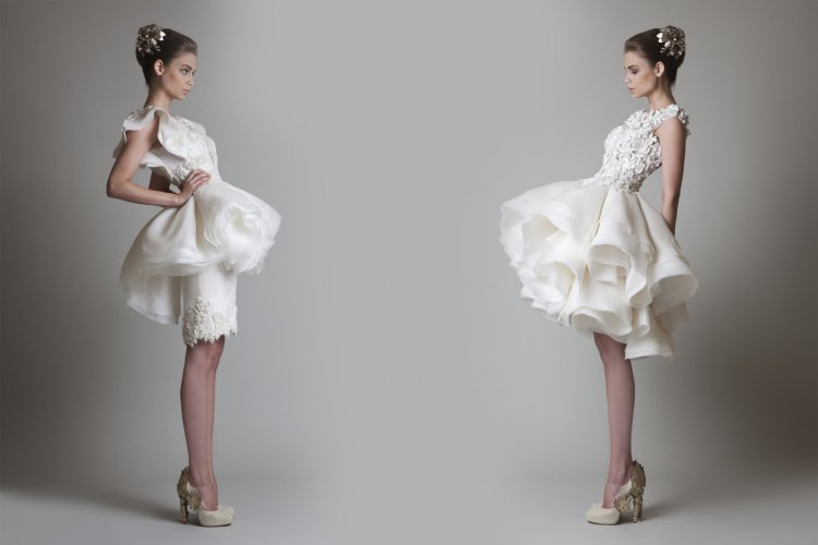 Самый необычные свадебные платья