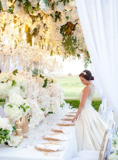 Удивительный свадебный декор