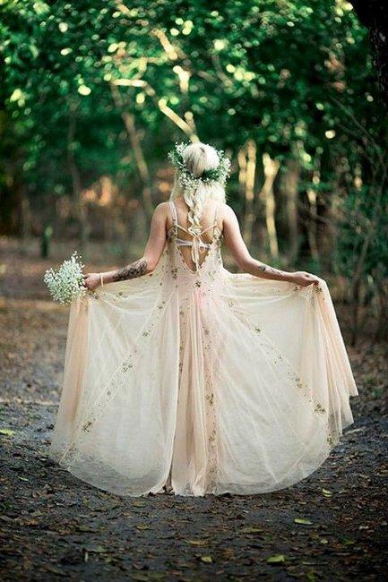 Бохо-невеста