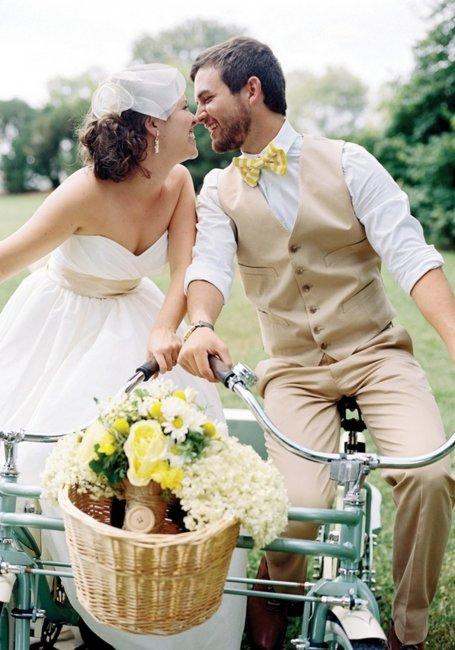 Винтажный стиль для современной свадьбы