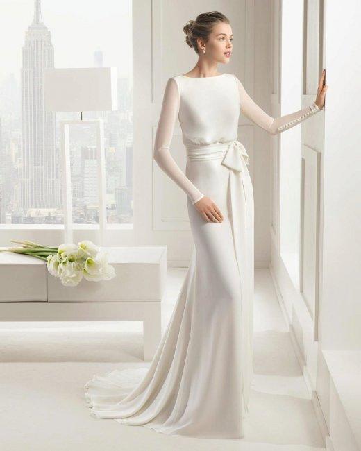 Элегантное платье для современной свадьбы