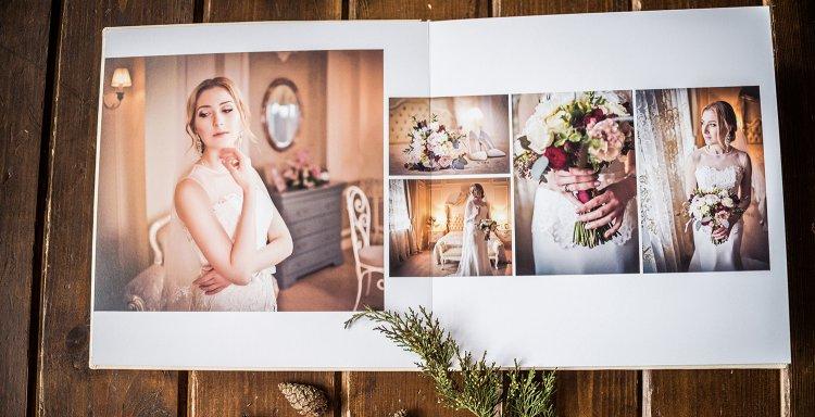Свадебные фотоальбомы примеры