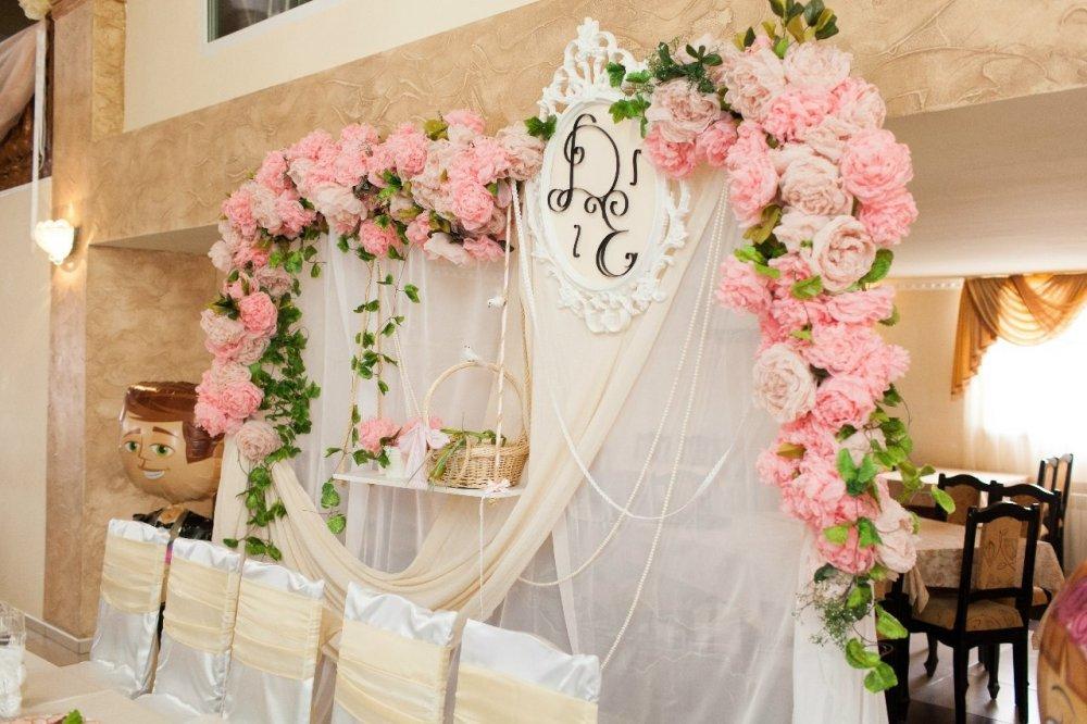 режима первым свадьба в стилле шебби-шик составу
