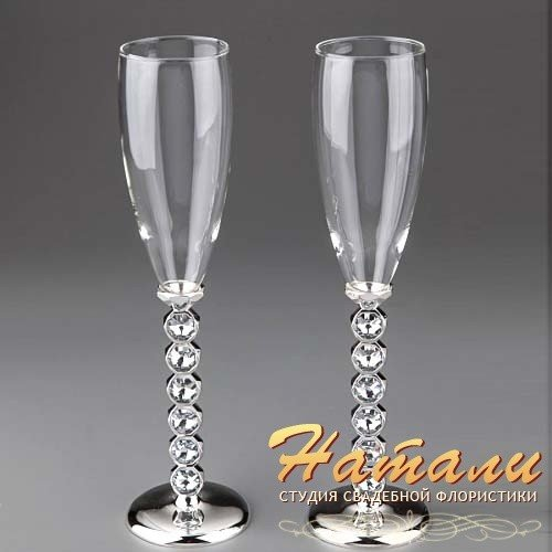 Фото свадебных бокалов сделанных