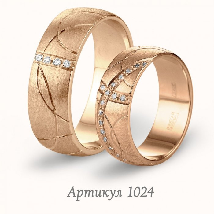 Инталия обручальные кольца