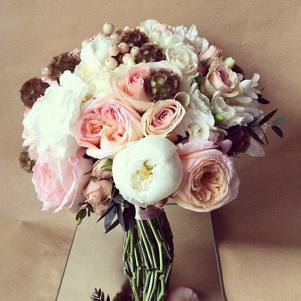 Цветы, букет невесты необычный ранункулюсы